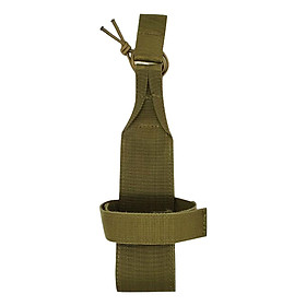 Hình đại diện sản phẩm Tactical Molle Water Bottle Holder Belts Carrier Pouch Outdoor Camping Nylon Bag - Khaki