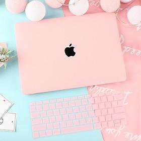 Combo ốp Hồng Pastel bảo vệ cho Macbook đủ dòng