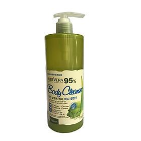 Sữa tắm ORGANIA White Good Nature Aloe Vera Body Cleanser 500g