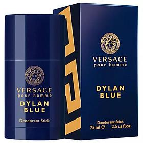 Lăn Khử Mùi Nước Hoa Nam Versace Pour Homme Dylan Bleu 75ml