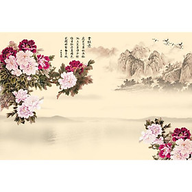 Tranh Treo Hoa Mẫu Đơn - MD022
