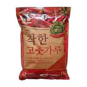 1KG Ớt Bột Mịn Hàn Quốc CHACKHAN - NONG WOO