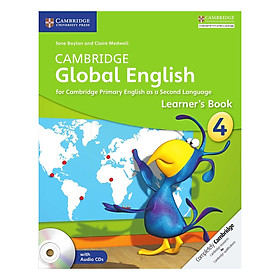 Cambridge Global English Stage 4: Learner Book with Audio CD