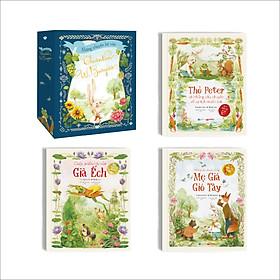 Sách kể chuyện kinh điển cho trẻ - Mẹ Già Gió Tây, Thỏ Peter, Già Ếch - Thornton Burgess. Sách chia chương, bìa cứng, có hình minh hoạ đẹp dành cho trẻ từ 4 - 12 tuổi