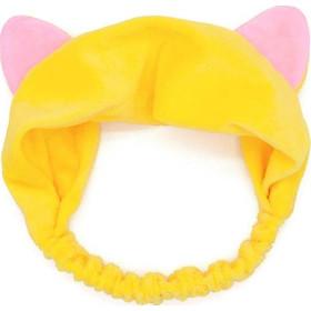 Băng Đô Rửa Mặt ,Tắm Hình Tai Mèo Cute - Vàng