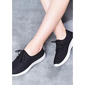Giày độn thể thao nữ buộc dây  V127