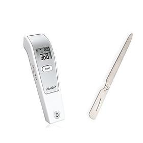 Bộ máy đo nhiệt kế điện tử Microlife đo trán Fr1mf1 kèm dũa sắt kềm Nghĩa