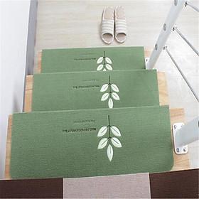 Non-slip Floor Mat Solid Wood Glue-free Self-adhesive Stair Mat Step Mat Carpet