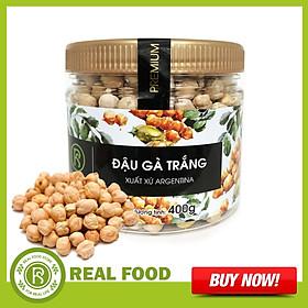Hũ Đậu Gà Trắng REAL FOOD STORE (400g)