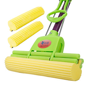Lee wheel rubber mop mop to send the original head 2 only