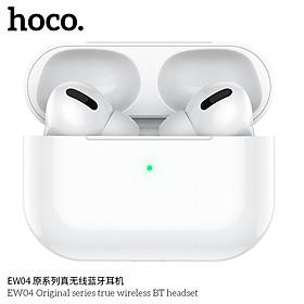 Tai nghe Bluetooth TWS Hoco EW04 hỗ trợ định vị, popup, đổi tên, cảm ứng chạm - Hàng chính hãng
