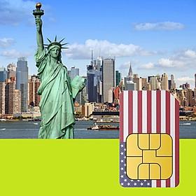 Sim 4G Mỹ Không Giới Hạn Dung Lượng - Miễn Phí Nghe Gọi Trong 15 Ngày