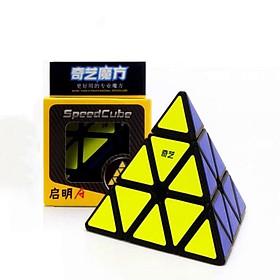 Rubik tam giác Qiyi cao cấp - Tặng kèm chân đê