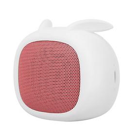 Loa Bluetooth Mini Tai Thỏ Có Khe Cắm Micro TF Cho iPhone Samsung