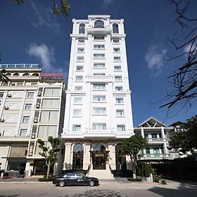 D'Lecia Hotel 3* Hạ Long - Gồm Bữa Sáng, Khách Sạn Mới, Ngay Trung Tâm Bãi Cháy, Gần Biển, Thuận Tiện Thăm Vịnh