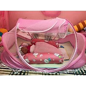 Mùng màn ngủ chống muỗi có nhạc và đa năng tiện lợi và dễ gấp cho mẹ và bé