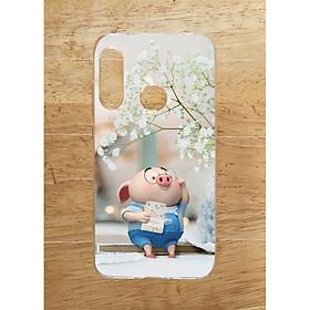 Ốp Lưng Dùng Cho Huawei P30 Lite (Dẻo) - Heo Đọc Sach