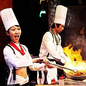 Cookin Nanta Show Bangkok - Vé VIP (Ghế R)