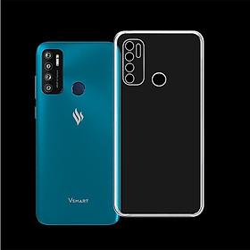 Ốp lưng/Case có viền CHE CAMERA cho điện thoại VSMART LIVE 4 - 01316 - Ốp dẻo trong suốt, bảo vệ điện thoại - Hàng Chính Hãng