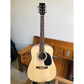 Đàn guitar classic model DD120X có EQ 7545R cho ra âm thanh tốt dành cho bạn tập chơi và sử dụng lâu dài