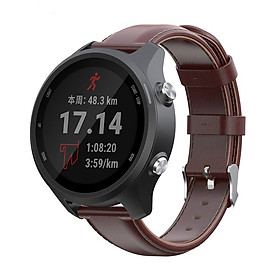 Dây Đeo Da Thay Thế Cho Đồng Hồ Thông Minh Smart Watch Size 20mm Xiaomi Amafit GTS / Xiaomi Amazfit Bip / Huawei Watch 2 / Garmin Vivomove HR / Samsung Galaxy Watch (42mm)