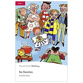 Level 1: Six Sketches Book and CD Pack (Pearson English Graded Readers)