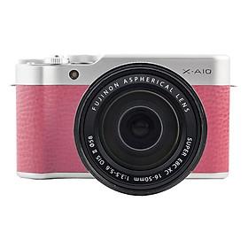 Fujifilm X-A10 + 16-50mm Pink - Hàng Chính hãng