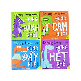 Sách bộ 4 cuốn Khủng long nhỏ