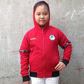 Áo khoác trẻ em GOKING cho bé gái và bé trai, áo khoác gió trẻ em vải dù mềm mại cao cấp