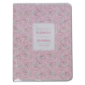 Sổ Tay Weekly Planner Ghi Chú Quản Lí Kế Hoạch Hiệu Quả - Flowery 1