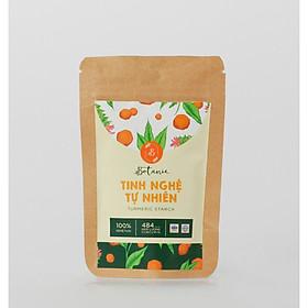 Tinh Nghệ Tự Nhiên Botanie -  Túi 50 gram - 100% Tinh bột nghệ tự nhiên, nguyên chất - Đã được điểm định chất lượng VSATTP - Hỗ trợ các vấn đề về tiêu hóa