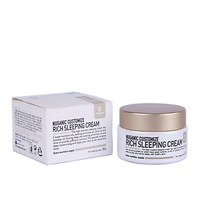 Kem dưỡng Nuganic Customize Rich Sleeping Cream