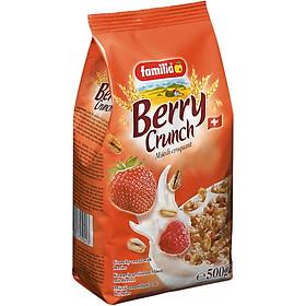 Ngũ Cốc Giòn Vị Dâu Berry Crunch Familia (500g)
