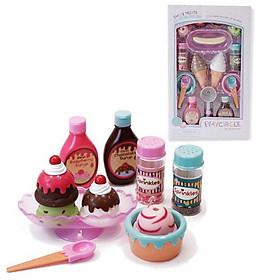 Bộ đồ chơi những chiếc kem ngọt ngào Sweet Treats Ice Cream Parlour dòng PlayCiRcle B.Toys PC2216Z