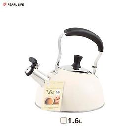 Ấm đun nước bếp từ có còi báo sôi Pearl Life 1.6L nội địa Nhật Bản