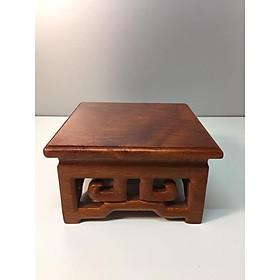 đế kê tượng gỗ hương vân