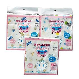 SÉT 30 chiếc khăn sữa xuất Nhật cao cấp