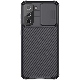 Ốp lưng Nillkin Camshield cho Samsung S21 - S21 Plus - S21 Ultra, che camera - Hàng nhập khẩu
