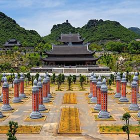 Tour Chùa Tam Chúc - Tràng An 01 Ngày, Khởi Hành Thứ 5, 7 & CN - Hàng Tuần