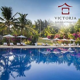 Victoria Phan Thiết Beach Resort & Spa 4* - Buffet Sáng, 02 Hồ Bơi Lớn, Bãi Biển Riêng, Trung Tâm Mũi Né