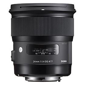 Ống Kính Sigma 24mm F1.4 DG HSM Art For Nikon - Hàng Nhập Khẩu