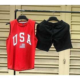 Đồ bộ thể thao nam vải thun tuyết mưa mềm mịn, Thời Trang Phong Cách Hàn aloha style (Freesize từ 45-70kg)-Nhiều kiểu lựa chọn