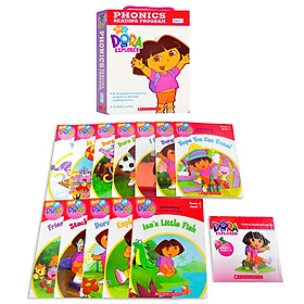 Dora The Explorer Phonics Boxset #1 With Cd
