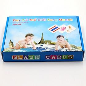 Bộ Thẻ Học Flash Card Glenn Doman Thế Giới Xung Quanh