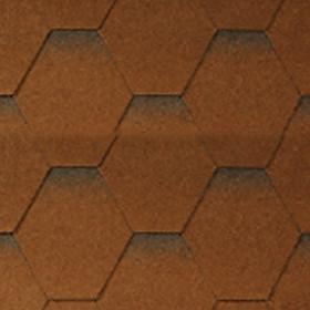 Ngói bitum tổ ong màu dark brown