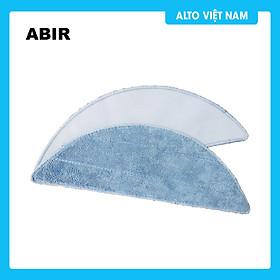 Combo 3 miếng lau nhà thay thế dành cho Robot hút bụi thông minh ABIR X6/X8 - Hàng chính hãng