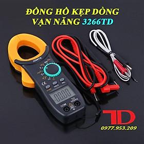 Đồng hồ kẹp dòng vạn năng 3266TD, Ampe kìm dòng NJTY 3266TD Đo Tụ, Tần Số, Nhiệt Độ