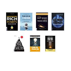 combo 7 cuốn sách : ĐỜI THAY ĐỔI KHI TA ĐỔI THAY( tặng kèm sổ tay + bookmark)