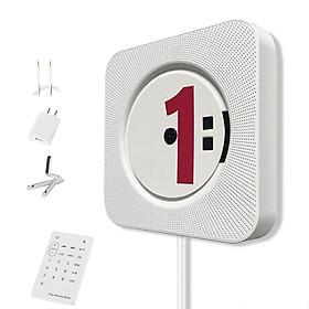 Máy Phát Nhạc Bluetooth Treo Tường Điều Khiển Từ Xa