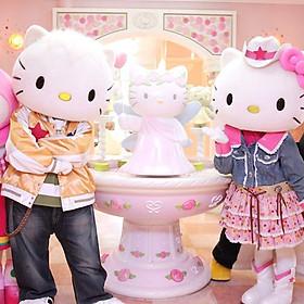 Vé Sanrio Hello Kitty Town Và Thomas Town